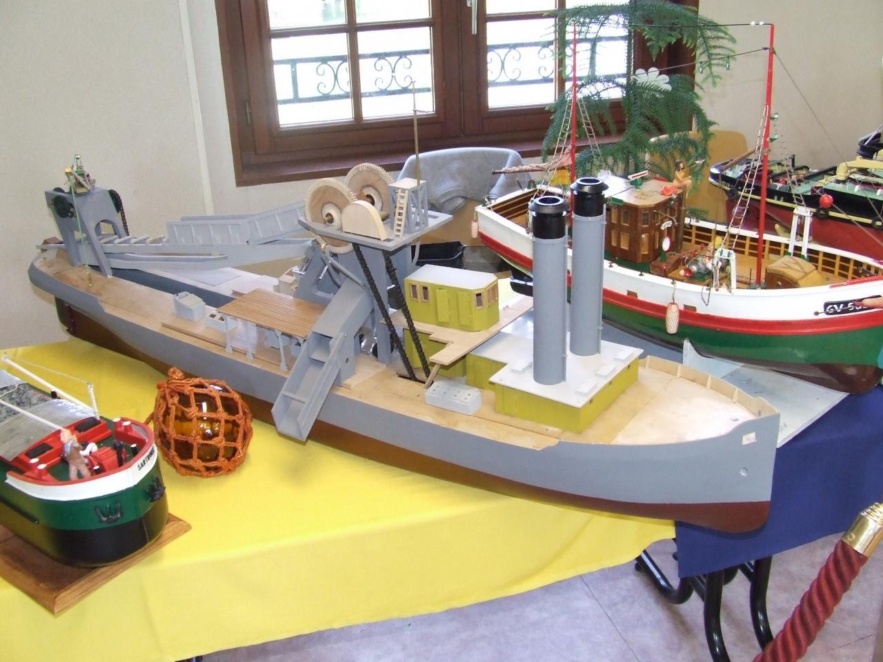 bateau de  jean bernard