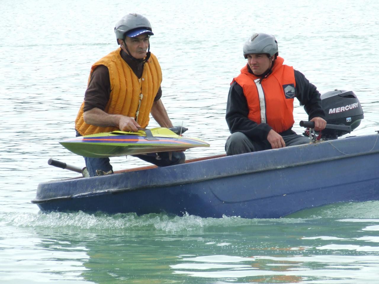 barque de récup