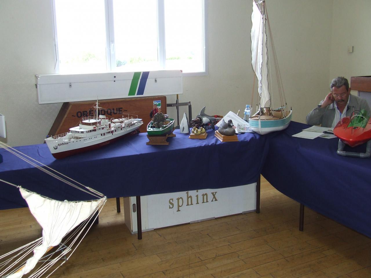 bateaux des membres du club