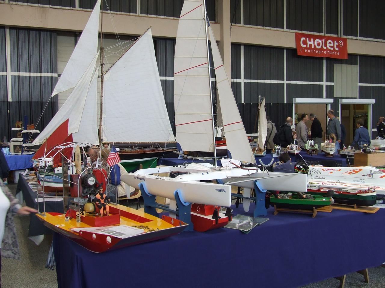 les bateaux du club du mini mousse d'allonnes