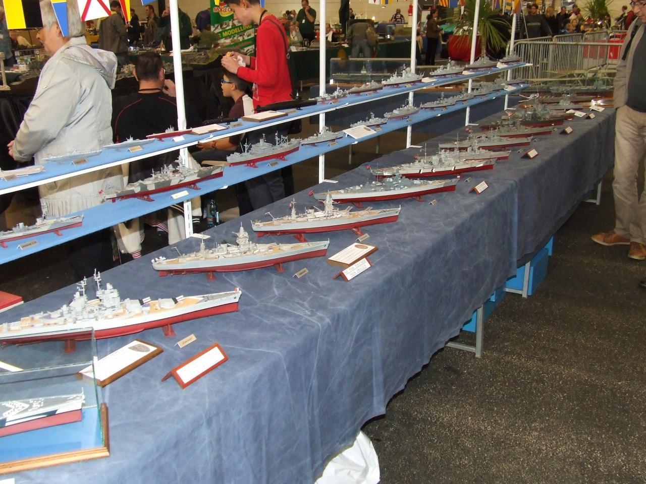 maquette de bateaux de guerre