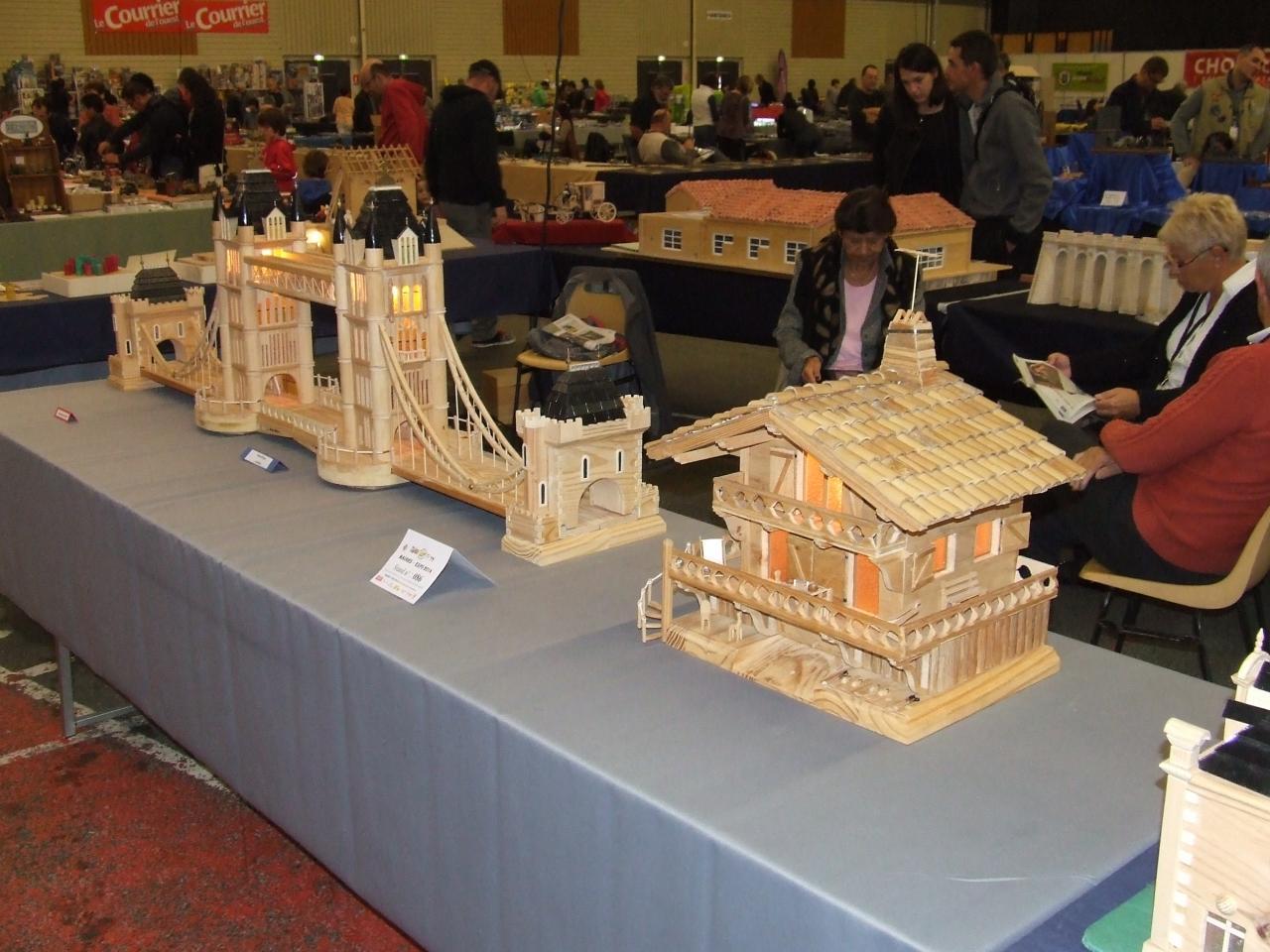 maquettes en bois