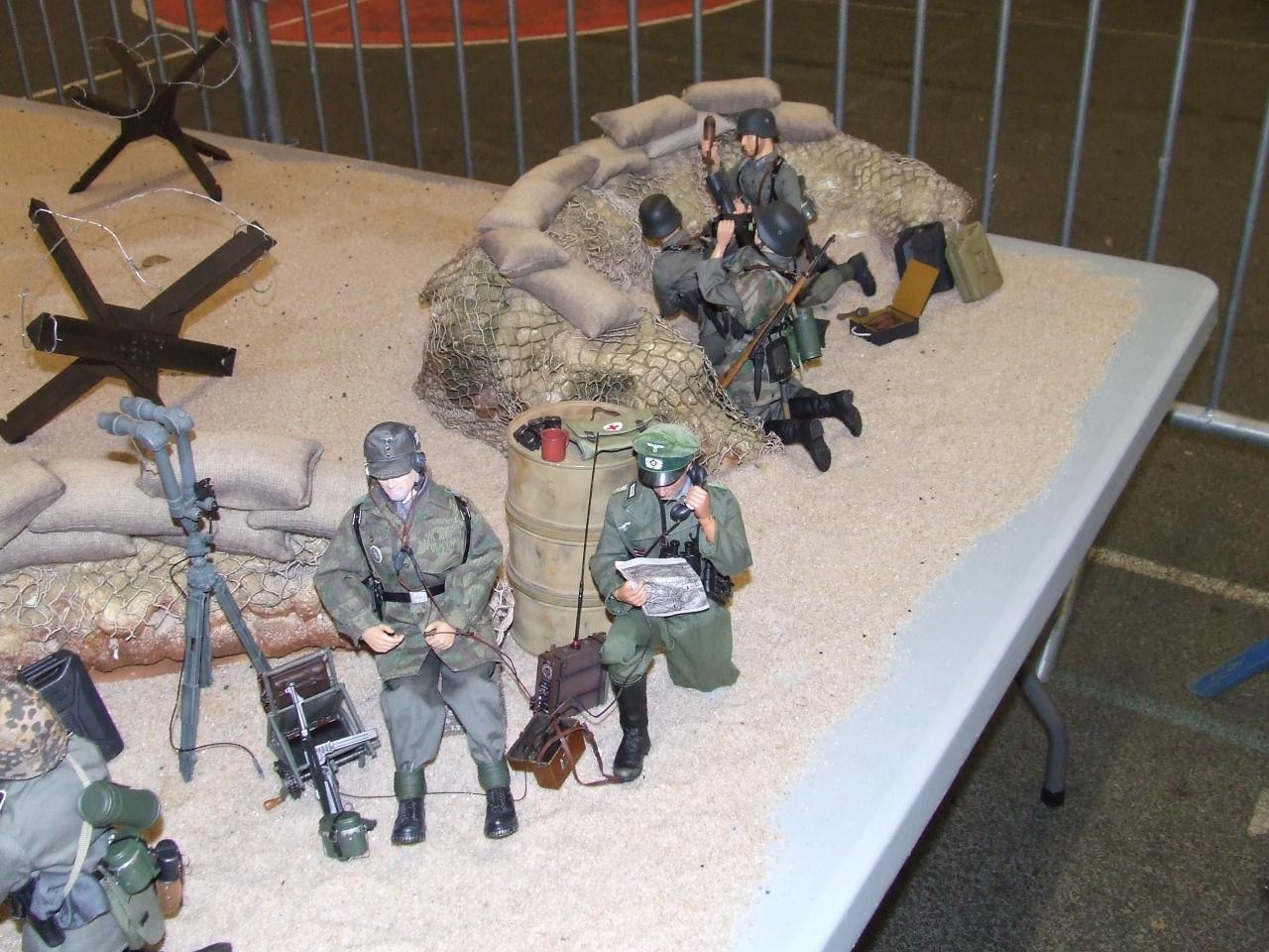 figurines de la guerre