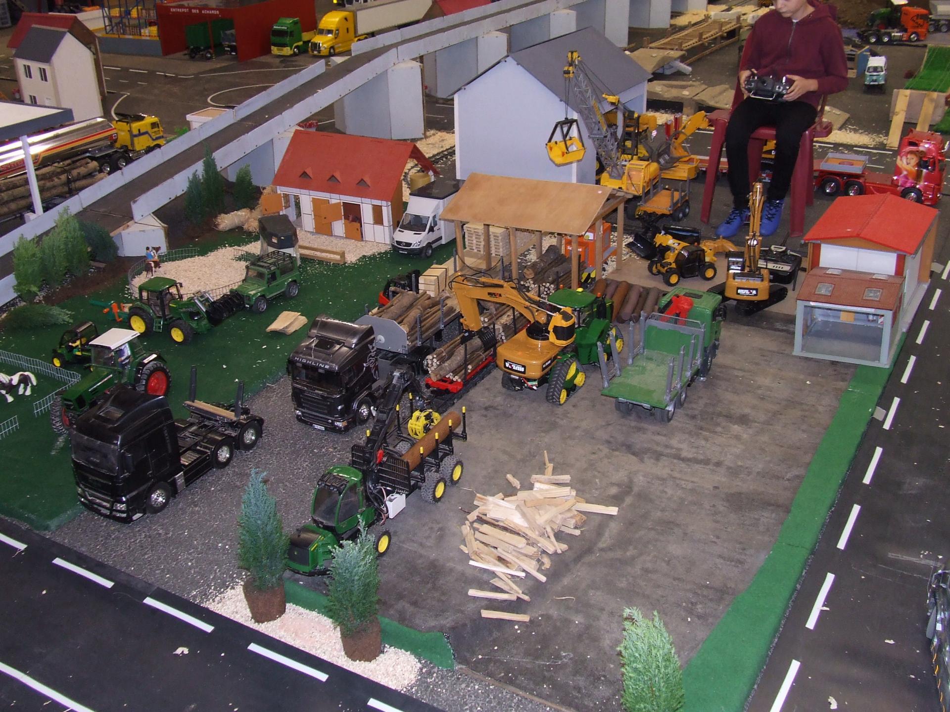 maquettes de camion