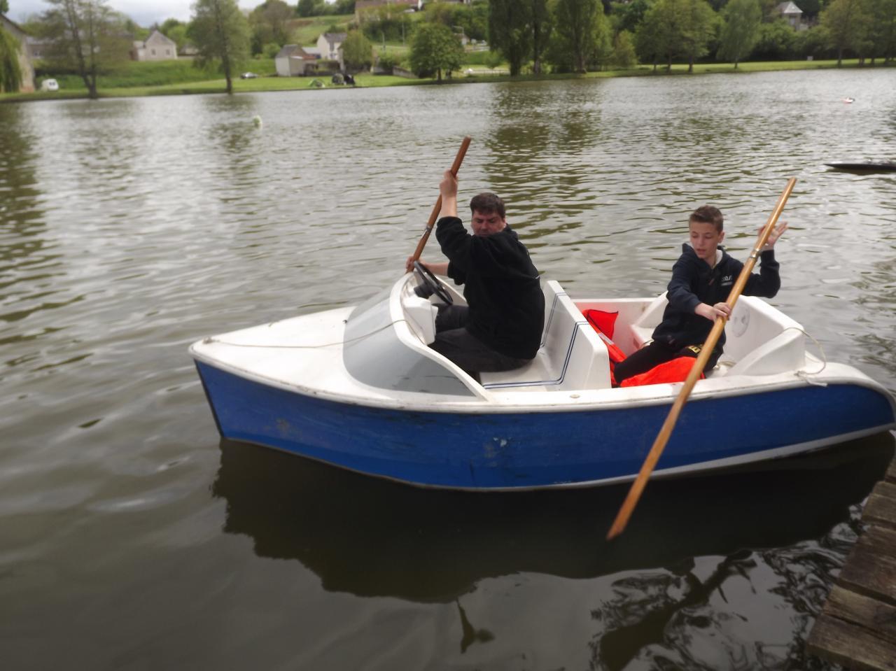 la barque de récup